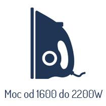 Żelazka o mocy od 1600 W do 2200 W
